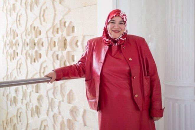 Nadia Karmous au musée des civilisations de l'Islam