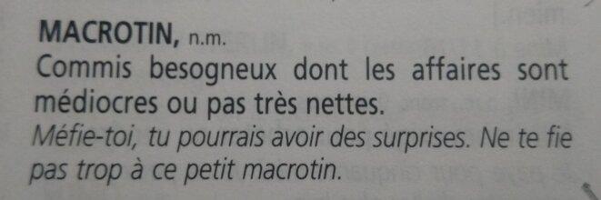 """in Pierre Perret, """"Le Parler des métiers"""", chapitre Finances / boursiers, page 621, éditions Robert Laffont, 2002)"""