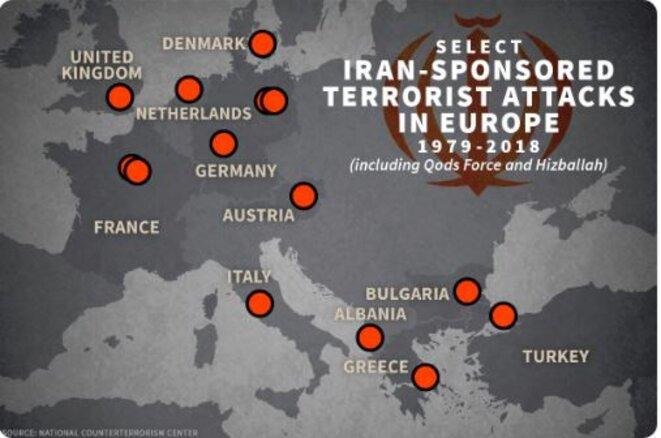 Le terrorisme iranien en Europe