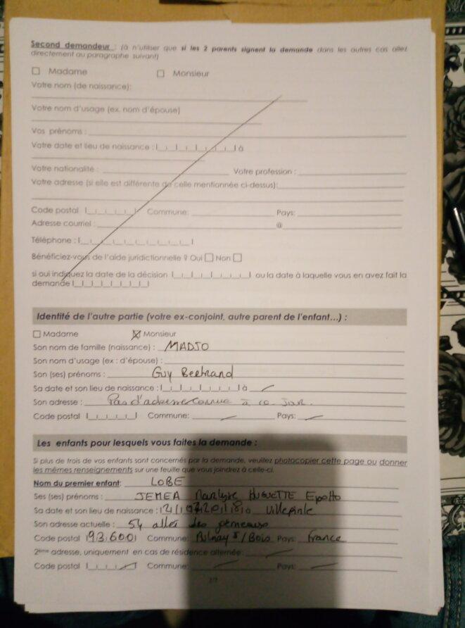 étiquette pour la datation après la mort du conjoint