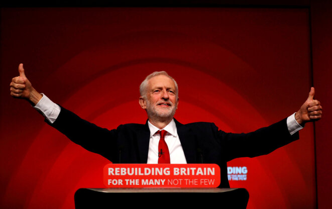 Jeremy Corbyn. © Reuters / Phil Noble