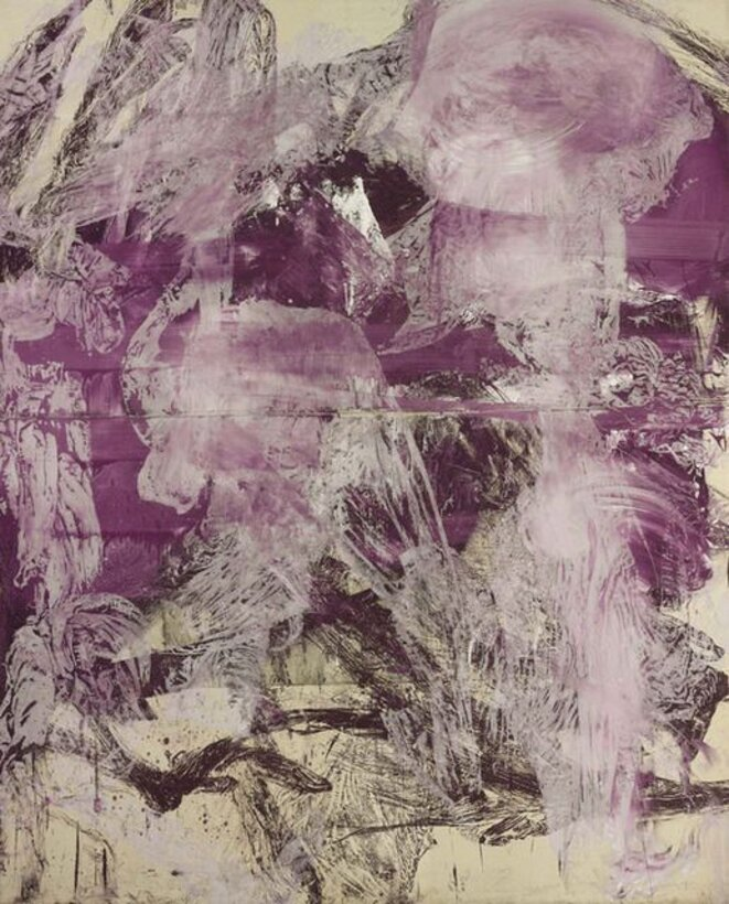 Julian Schnabel, « A little later », 1990 © galerie Gagosian