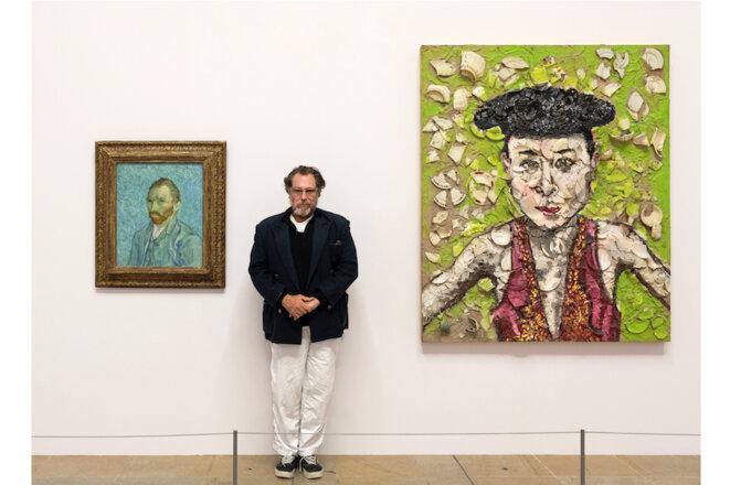 Julian Schnabel, 2018 ©Musée d'Orsay/Sophie Crépy-Boegly