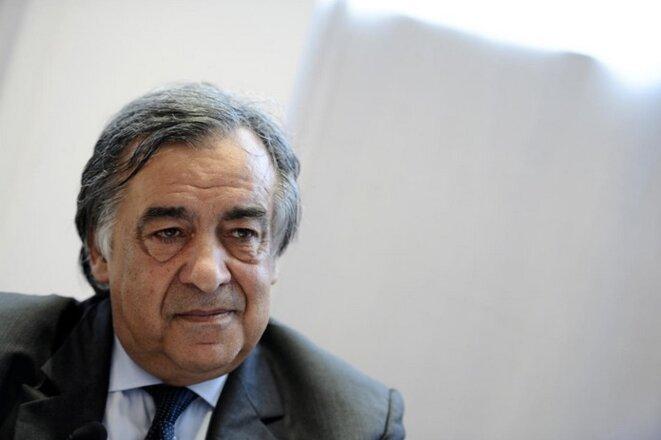 Leoluca Orlando, maire de Palerme. © REUTERS/Guglielmo Mangiapane
