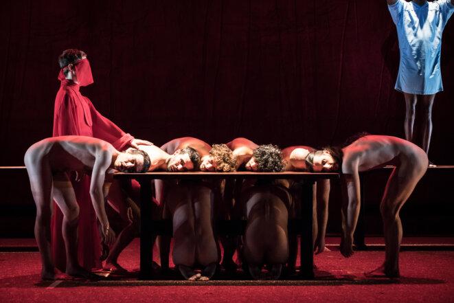 "Scène de ""The Scarlet letter"" © Simon Gosselin"