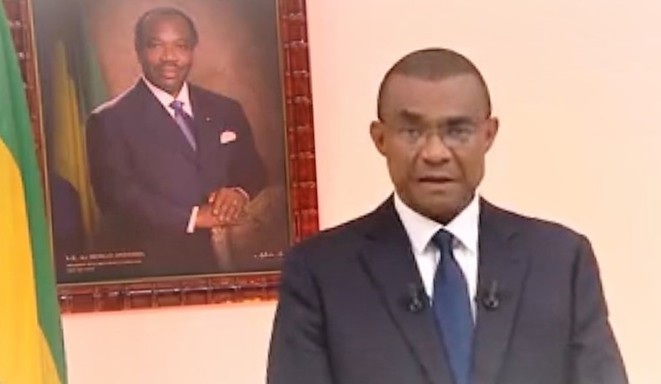 Le Secrétaire général de la présidence de la République Gabonaise, M. Jean-Yves TEALE