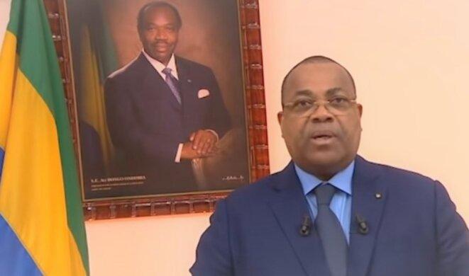 Le nouveau Premier ministre gabonais, Julien Nkoghé Békalé