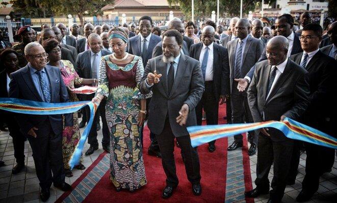 Joseph Kabila en juin 2018 © Twitter - Présidence RDC