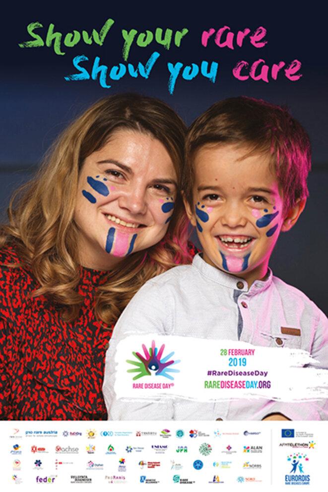 Affiche officielle - Rare Disease Day © Eurordis
