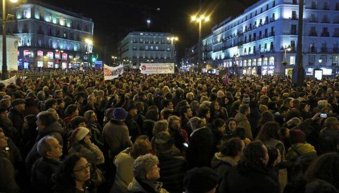 Miles de personas claman en Madrid que no se negocien derechos de las mujeres. © infoLibre