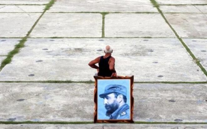 Cubains fatigués © Anonyme
