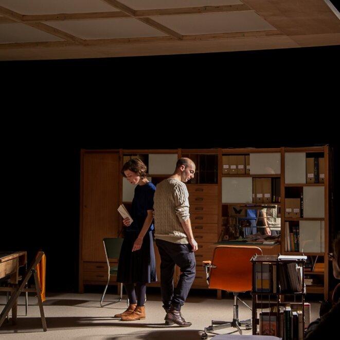 """David Geselson, """"Doreen"""", d'après """"Lettre à D."""" d'André Gorz, création décembre 2016, Théâtre de la Bastille, Paris"""