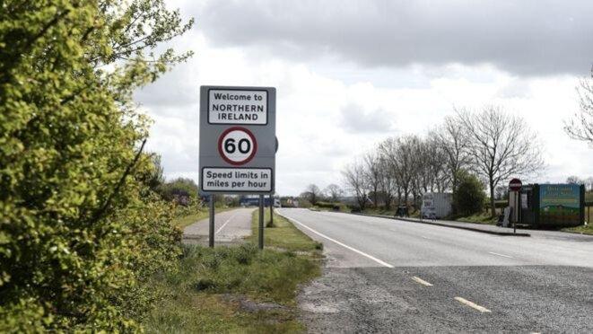 Après le Brexit, la frontière Derry-Donegal tracera la limite entre les deux Irlandes, mais aiussi entre l'Union européenne et le Royaume uni © Getty