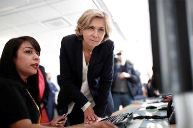 Valérie Pécresse, à la Région Île-de-France. © Reuters