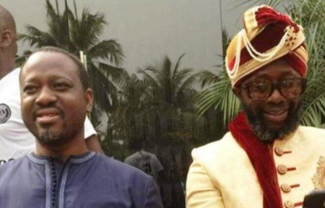 Le citoyen Kader Doumbia, enlevé le jeudi 17 janvier 2019 au soir à Abidjan, posait ici dans une photo ancienne avec le Président Guillaume Soro.