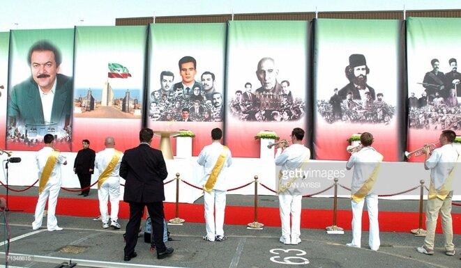 Massoud et les autres leaders historique du mouvement démocratique en Iran depuis un siècle...