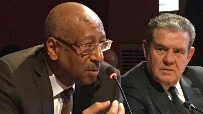 © NORDINE BENSMAIL Georges Patient, sénateur de Guyane