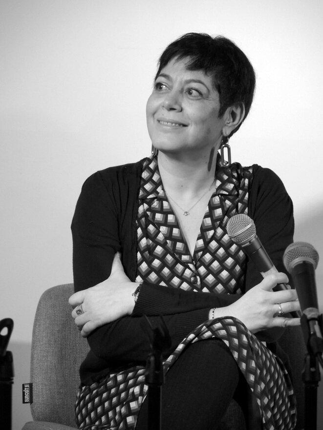 Valérie Zenatti, le 19 janvier 2019 © Gilles Walusinski