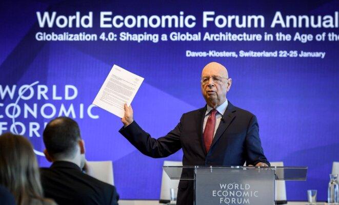 Klaus Schwab, fondateur du sommet de Davos. © DR