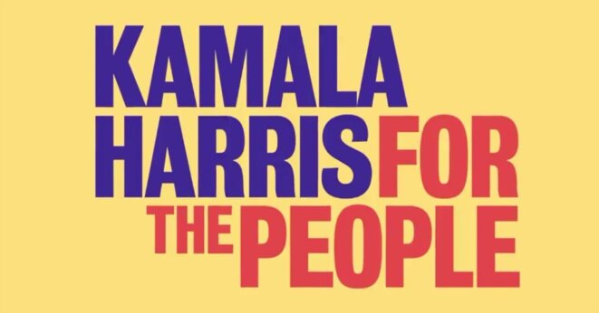 Campagne Kamala harris © Kamala Harris for the People