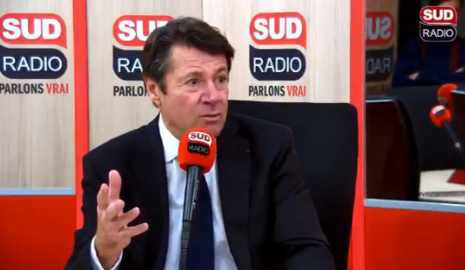 Christian Estrosi à Sud Radio