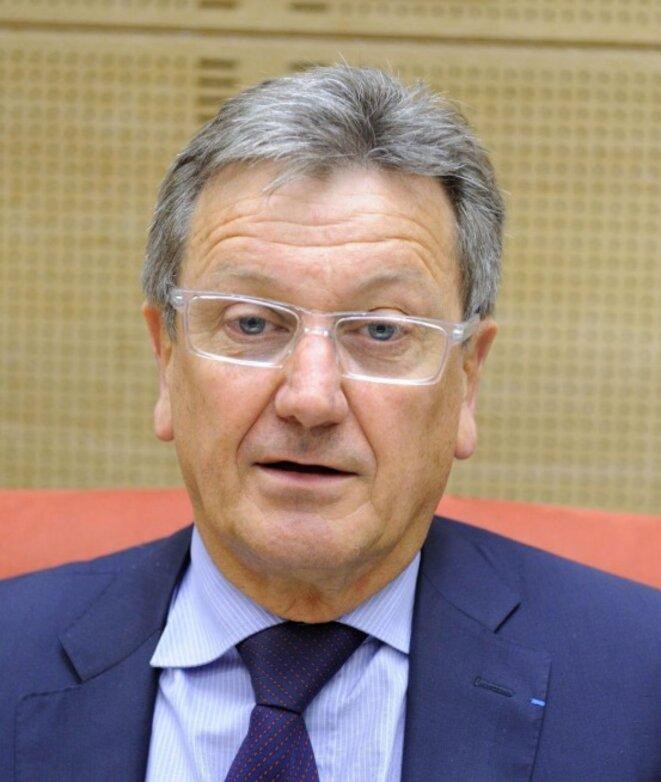 Le sénateur Les Républicains François Pillet. © D.R.