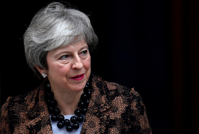 Theresa May, el 21 de enero de 2019 en Londres. © Toby Melville/Reuters