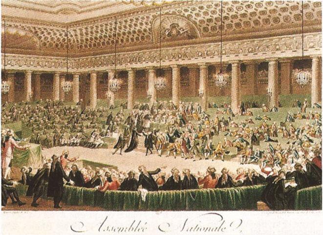 Nuit du 4 août 1789 abolition des privilèges © Gene Reynaud
