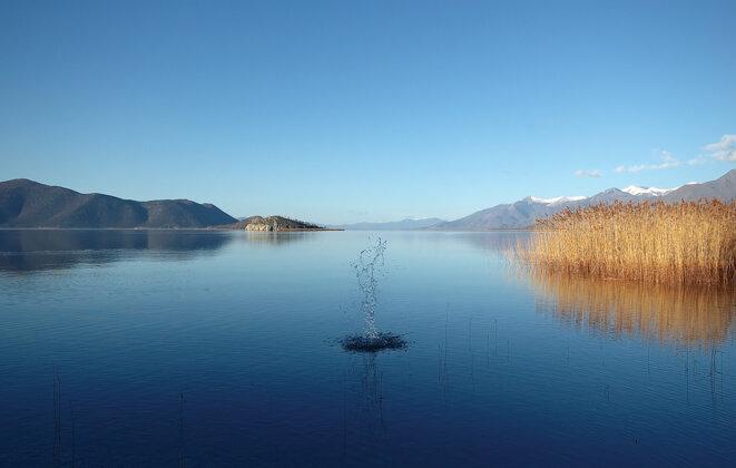 Les lacs de Prespa sont la frontière naturelle entre la Grèce, la MdN et l'Albanie. Ce paysage, d'une rare beauté, fut souvent le théâtre d'épisodes militaires