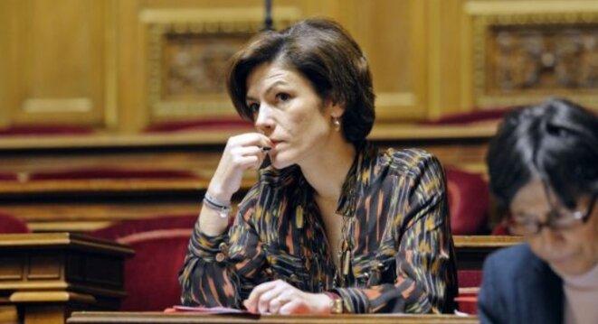 Chantal Jouanno a estimé que les conditions d'un grand débat démocratique n'étaient pas réunies. © Reuters