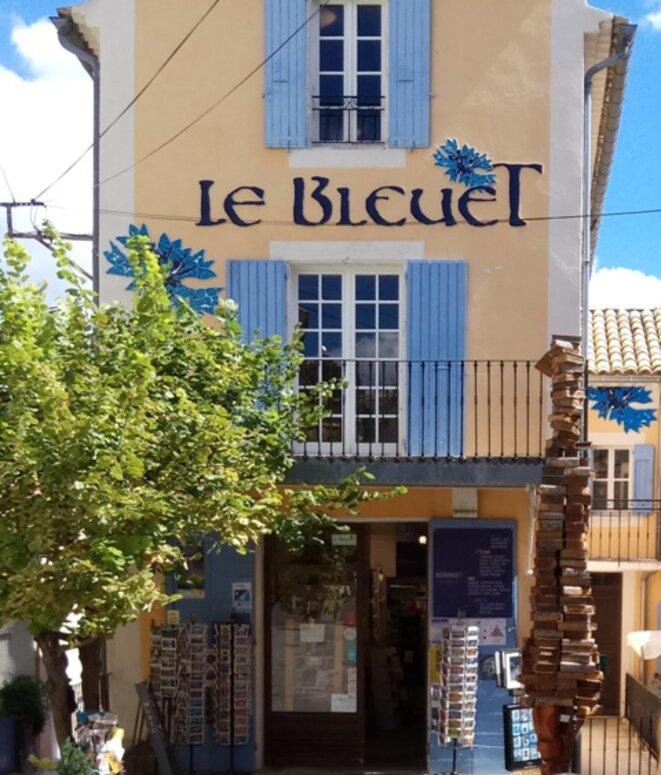 Librairie Le Bleuet à Banon (Haute-Provence)