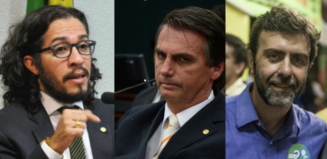 Wyllys - Bolsonaro -Freixo