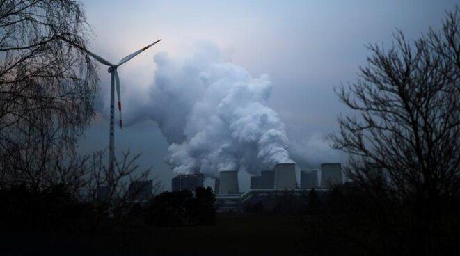 La centrale à charbon de Jänschwalde (Brandebourg). © Reuters