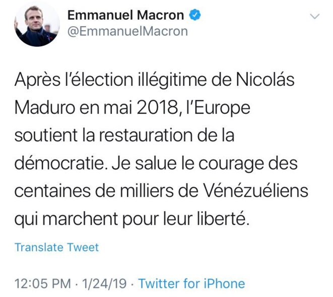 macron-maduro