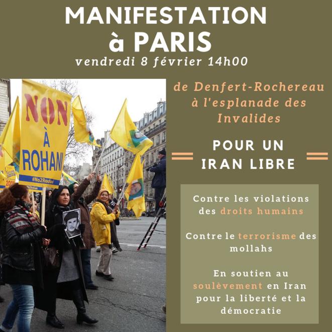 manif: iran libre