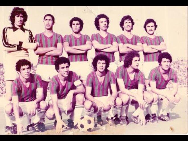 La grande équipe du Mouloudia en 1976