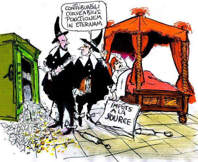 Impôt à la source © Calvi