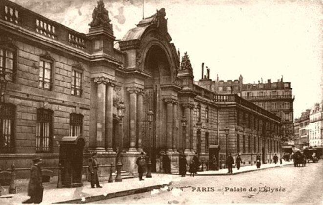 Palais de l'Elysée en 1900 © Pierre Reynaud
