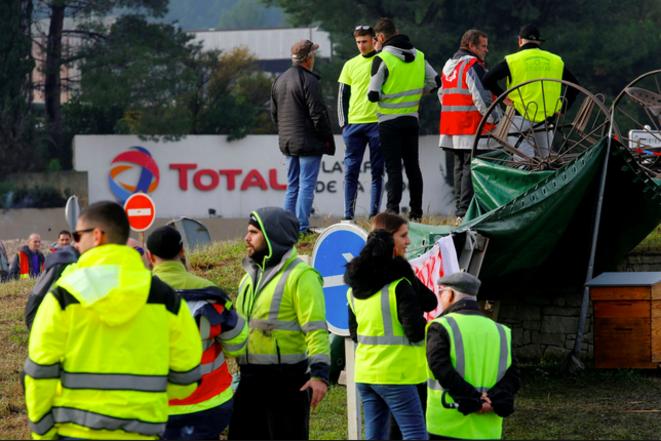 Deux syndicats dont la CGT et des gilets jaunes feront grève ensemble le 5 février. © Reuters