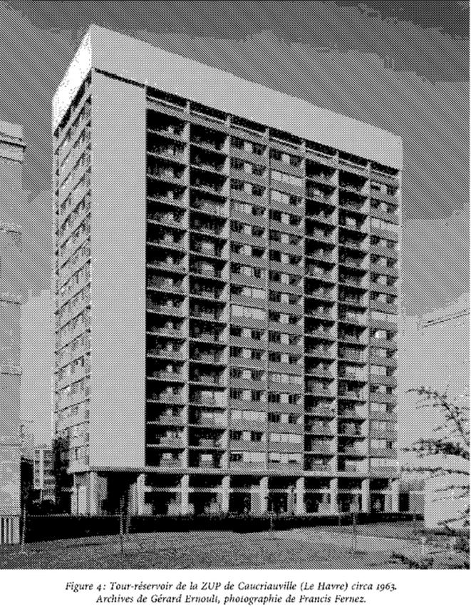 La tour-réservoir, archives de Gérard Ernoult, photographie de Francis Fernez.