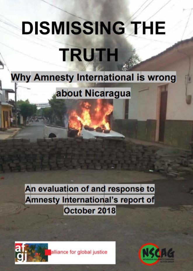 Rejeter la vérité : pourquoi Amnesty International a tort au sujet du Nicaragua.