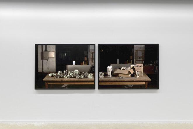 """Paul Pouvreau, """"Sage comme une image"""", vue de l'exposition """"Le magazine des jours"""", Centre photographique d'Ile-de-France, Pontault-Combault, 2019. © Aurélien Mole, 2019"""
