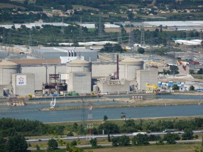 Centrale nucléaire du Tricastin (CRIIRAD) © CRIIRAD