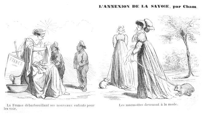 « L'Annexion de la Savoie », L'illustration, Paris, 1860.