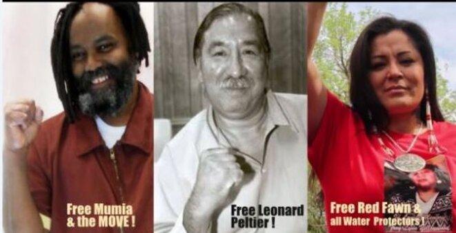 Feee All political prisoners © Csia Nitassinan