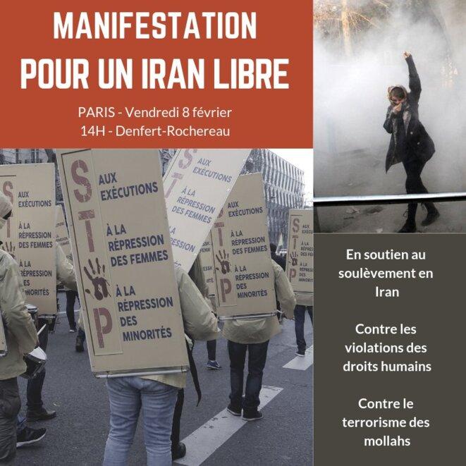 Grande manidestation à Paris vendredi 8 février, Denfert-Rochereau, à 14h
