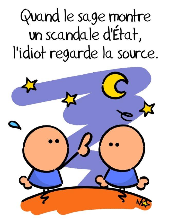 L'idiot et la source © Norb