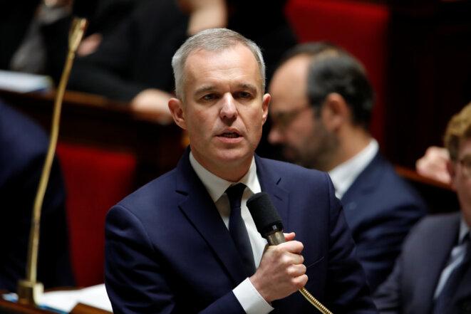 François de Rugy le 28 novembre 2018 à l'Assemblée © Gonzalo Fuentes / Reuters.