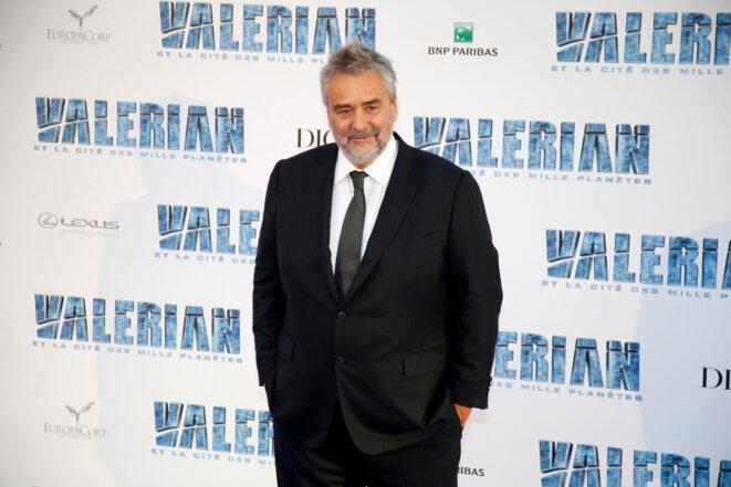 Luc Besson lors de la première du film «Valérian et la Cité des mille planètes», le 25 juillet 2017. © Reuters