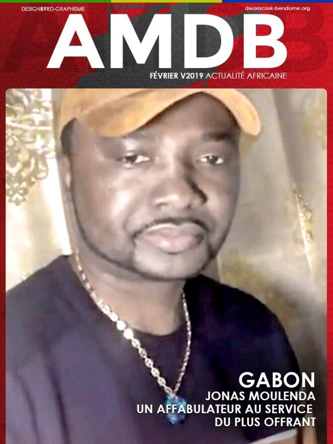 Jonas Moulenda le plus beau journaliste gabonais alias Joana pour les intimes
